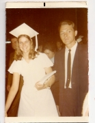 Edie and Al 1971 (Edie's High School Graduation)