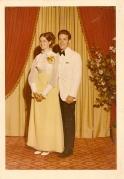Al and Edie  1971 Senior Prom