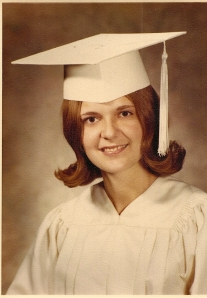 Edie 1971 High School Graduation