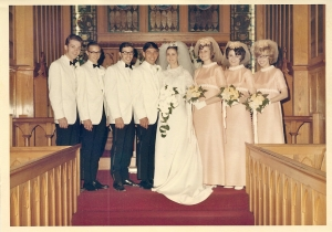 Diann and Russ Wedding May 23, 1970
