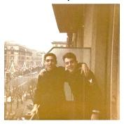 Al & Russ Rome, Italy 1969