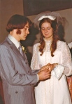 Wedding Day December 9, 1972
