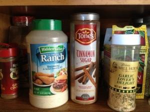 Do you see Cinnamon Sugar anywhere?
